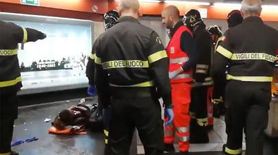 «Думаем над коллективным иском»: болельщики ЦСКА отрицают вину в инциденте на эскалаторе римского метро