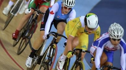 Российская велогонщица Гончарова одержала победу в скрэтче на этапе КМ на треке в Канаде