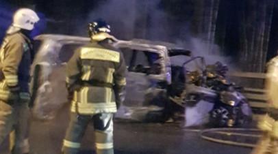 В Петербурге задержали водителя грузовика после ДТП с восемью погибшими