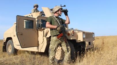 Украинские пограничники на учениях отразили атаку с Азовского моря