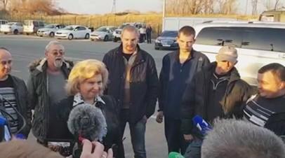 «Первая важнейшая акция»: семерых членов экипажа судна «Норд» обменяли на украинских моряков