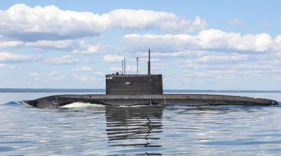 Подлодка ЧФ отработала погружение на 240-метровую глубину