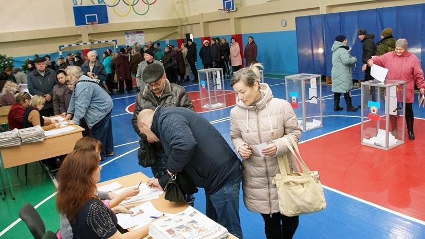Явка на выборах в ДНР на 16:00 мск составила 71,4%