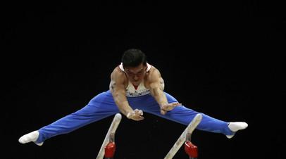 Далалоян заявил, что слова Путина воодушевили его перед финалом ЧМ по спортивной гимнастике в вольных упражнениях