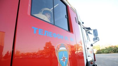 При пожаре в частном доме в Самарской области погибли трое детей