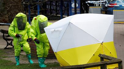 В Госдепе думают о новых санкциях против России по делу Скрипаля