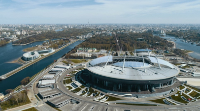 На футбольном стадионе «Санкт-Петербург» пройдут матчи сборной России по хоккею и СКА