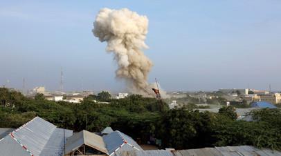 В столице Сомали произошли три взрыва