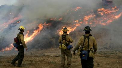 В Малибу объявлена эвакуация из-за лесных пожаров