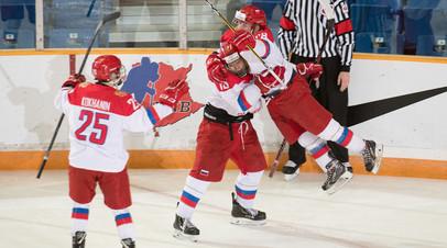 Сборная России по хоккею до 17 лет вышла в финал Мирового кубка вызова