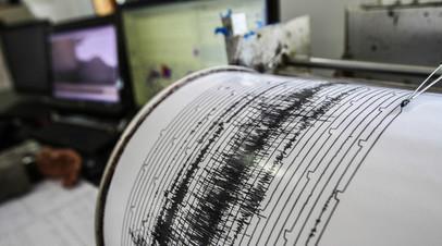 У берегов Королевства Тонга зафиксировали землетрясение магнитудой 6,2