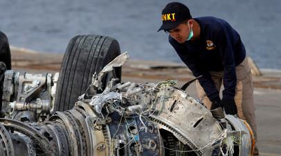 В Индонезии завершили операцию по поиску жертв крушения Boeing
