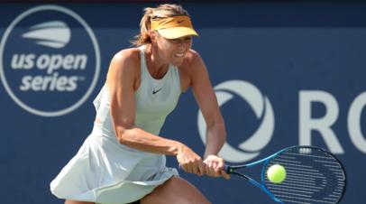 Шарапова выступит на турнире WTA в Санкт-Петербурге в 2019 году