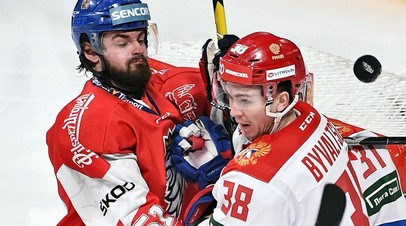 Цена экспериментов: сборная России проиграла команде Чехии в заключительном матче победного Кубка Карьяла