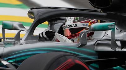 Хэмилтон выиграл Гран-при Бразилии, Сироткин — 16-й