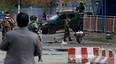 Боевики ИГ взяли на себя ответственность за взрыв в Кабуле
