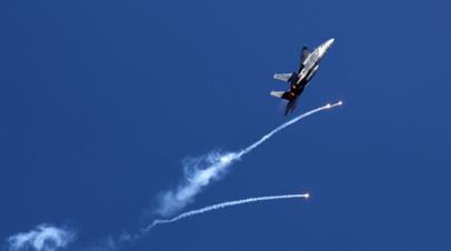 Авиация Израиляначала наносить удары по сектору Газа