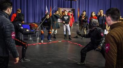 Финальные бои турнира по историческому фехтованию пройдут 18 ноября в Оренбурге