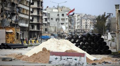 В ЦПВС рассказали об обстрелах пригородов сирийского Алеппо
