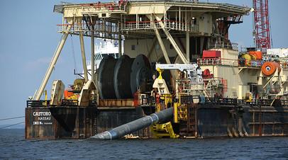 «200 км уже построили»: в «Газпроме» ответили на угрозы США остановить «Северный поток — 2»