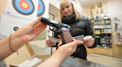 Общественники поддержали предложение повысить возраст для покупки оружия
