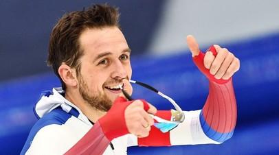 Конькобежец Юсков победил на дистанции 1500 м на первом этапе Кубка мира
