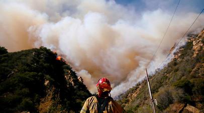 Города Калифорнии стали населёнными пунктами с самым загрязнённым воздухом в мире