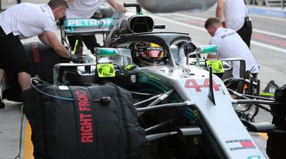 Хэмилтон победил в квалификации Гран-при Абу-Даби, Сироткин — 19-й