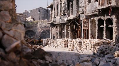 SANA: число пострадавших при обстреле боевиками Алеппо возросло до 107