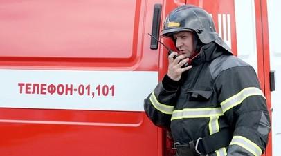 Открытое горение в торгово-офисном здании в Петербурге ликвидировано