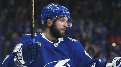 Кучеров признан третьей звездой недели в НХЛ