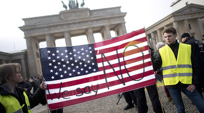 «Страшный сон для англосаксонского мира»: большинство немцев выступают за более тесные связи с Россией, а не с США