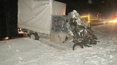В результате ДТП в Челябинской области погибли пять человек