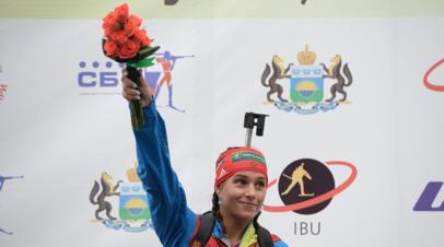 Ильченко могут не допустить до участия в первом этапе КМ по биатлону