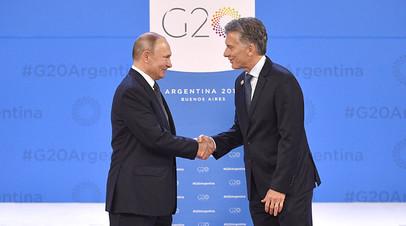 Такие разные приветствия: как президент Аргентины встречал лидеров на саммите G20