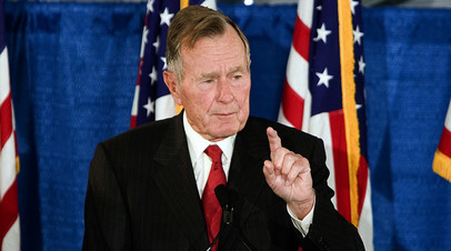 «Действовал как ястреб»: в США скончался экс-президент Джордж Буш — старший