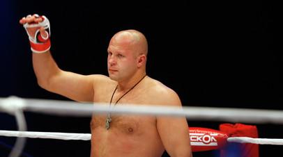 Фёдор Емельяненко прокомментировал временное признание самбо олимпийским видом спорта