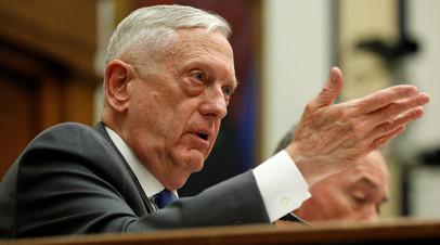 «Дефицит логики»: как глава Пентагона обвинил Россию во вмешательстве в промежуточные выборы