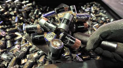 СМИ: В России могут создать новые мощности по переработке использованных батареек