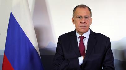 Лавров обсудил с экс-премьером Ливана ситуацию на Ближнем Востоке