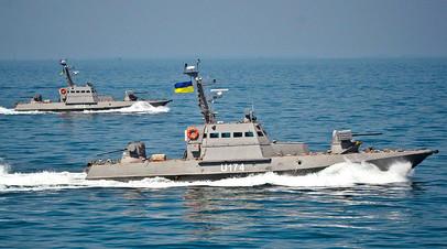 Рада разрешила морской охране стрелять без предупреждения