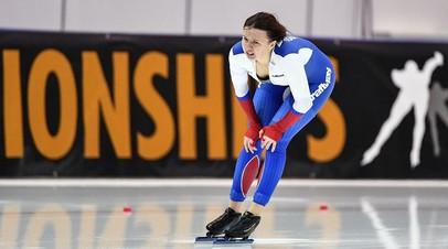 Россиянка Качанова завоевала бронзу на дистанции 1000 м на этапе КМ по конькобежному спорту в Польше