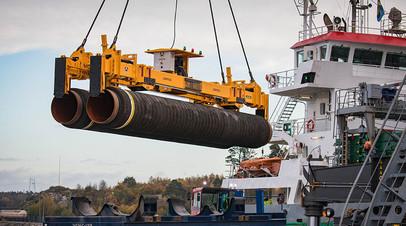 «Газпром»: строительство «Северного потока — 2» идёт по графику