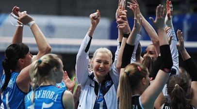 Волейболистки «Динамо» во второй раз завоевали Суперкубок России