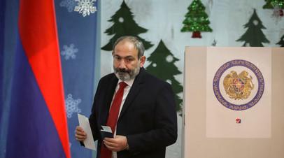 ЦИК: блок Пашиняна лидирует на выборах в Армении