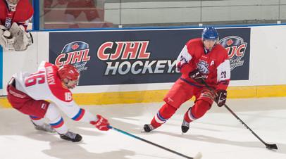 Юниорская сборная России по хоккею обыграла Чехию на Мировом кубке вызова