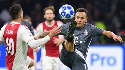 «Бавария» сыграла вничью с «Аяксом» в матче Лиги чемпионов, упустив победу в компенсированное время