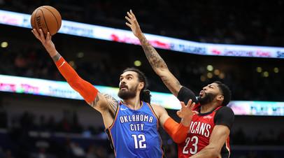 «Нью-Орлеан» обыграл «Оклахому» благодаря 44 очкам Дэвиса в матче НБА