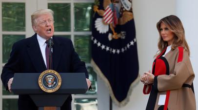 Меланья Трамп рассказала, как президент США принимает решения