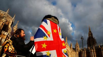 В Лондоне сторонники брексита заблокировали Вестминстерский мост
